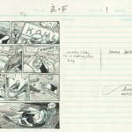 """This is the layout I went with for page 27. This is really still just a thumbnail at about 2"""" x 3.5""""."""