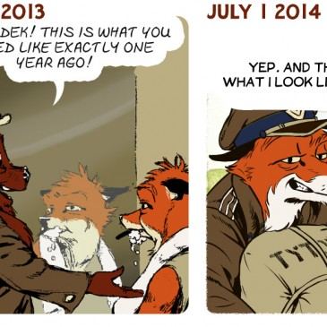 Comparison of Current Style to One Year Ago