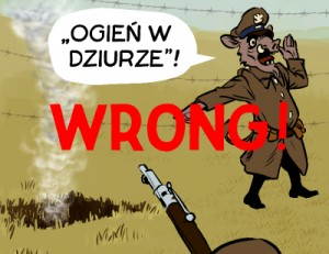 "Word bubble containing ""sierota"" error, a consideration in Polish comics translation"