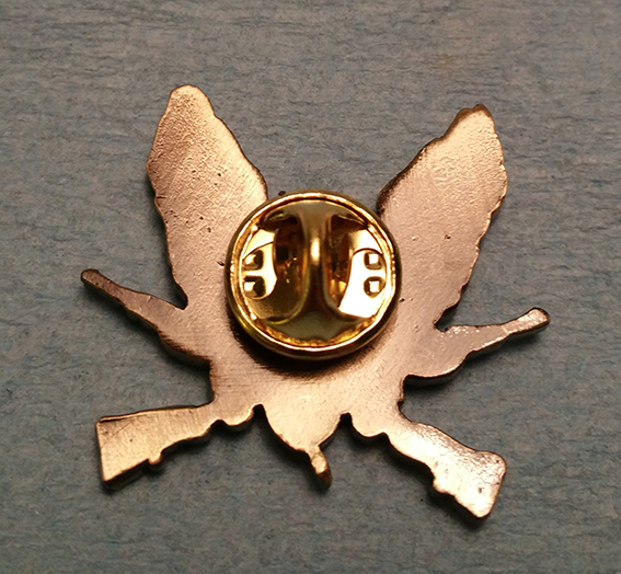 back of lapel pin